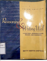 Image of Reasoning & Writing Well